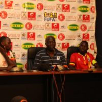 """""""The job is only half done"""", warns Coach Moses Basena."""