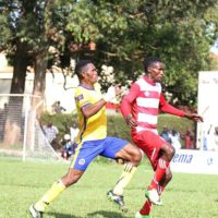 """""""Steven Luswata delighted with contract extension at Express FC."""