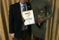 Claire Lamunu sweeps awards in the Portuguese Female Basketball League.