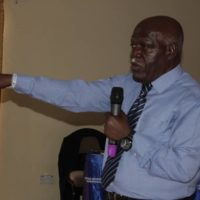 Mjr. Rubaramira lectures Boxing coaches on HIV and AIDS