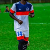 Lawrence Ndugga in South Africa for trials